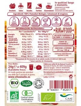 pomodoro disidratato croccante Vitasnack