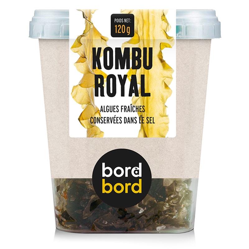Alghe Kombu Royal fresche sotto sale (120g)