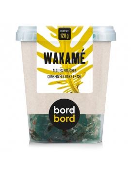 Alghe Wakame fresche sotto sale (120g)