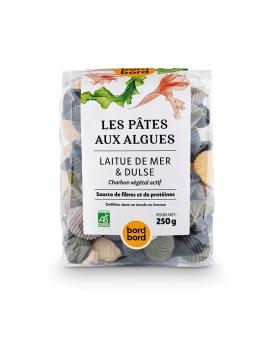 Pasta alle alghe - Conchiglie MIX (lattuga, dulse, carbone attivo) BIO (250g)