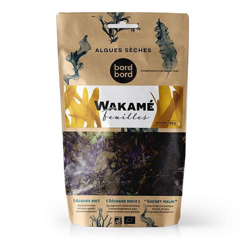 Alghe Wakame della Patagonia disidratate in scaglie (50g) - BIO