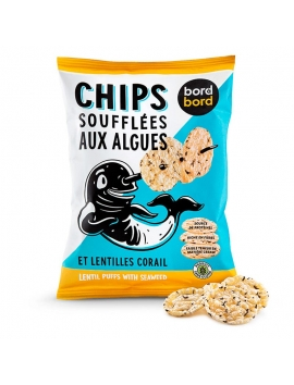 Chips di lenticchie e Kombu (50g) - Bio