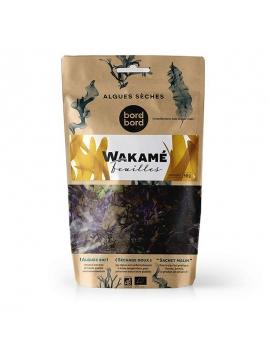 Alghe Wakame della Patagonia disidratate in foglia (40g) - BIO