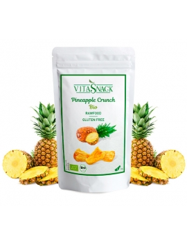 Snack croccante ananas bio